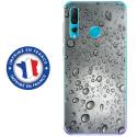 TPU0PSMART19GOUTTEEAU - Coque souple pour Huawei P Smart (2019) avec impression Motifs gouttes d'eau