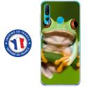TPU0PSMART19GRENOUILLE - Coque souple pour Huawei P Smart (2019) avec impression Motifs grenouille