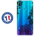 TPU0PSMART19LACENOIR - Coque souple pour Huawei P Smart (2019) avec impression Motifs Lace noir