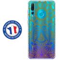 TPU0PSMART19MANDALAGOLD - Coque souple pour Huawei P Smart (2019) avec impression Motifs Mandala gold