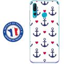 TPU0PSMART19MARIN5 - Coque souple pour Huawei P Smart (2019) avec impression Motifs thème marin 5