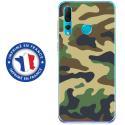 TPU0PSMART19MILITAIREVERT - Coque souple pour Huawei P Smart (2019) avec impression Motifs Camouflage militaire vert