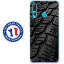TPU0PSMART19PNEU - Coque souple pour Huawei P Smart (2019) avec impression Motifs pneu