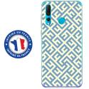 TPU0PSMART19RETRO1 - Coque souple pour Huawei P Smart (2019) avec impression Motifs retro 1