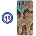 TPU0PSMART19SERPENT - Coque souple pour Huawei P Smart (2019) avec impression Motifs peau de serpent