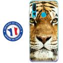 TPU0PSMART19TIGRE - Coque souple pour Huawei P Smart (2019) avec impression Motifs tête de tigre