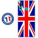 TPU0PSMART19UNIONJACK - Coque souple pour Huawei P Smart (2019) avec impression Motifs Union Jack