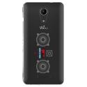 TPU0TOMMY2MP3 - Coque souple pour Wiko Tommy 2 avec impression Motifs lecteur MP3