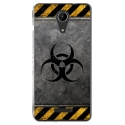 TPU0TOMMY2RADIOACTIF - Coque souple pour Wiko Tommy 2 avec impression Motifs radioactif