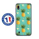 TPU0TPU0A10ANANAS - Coque souple pour Samsung Galaxy A10 avec impression Motifs ananas