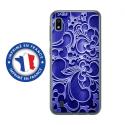 TPU0TPU0A10ARABESQUEBLEU - Coque souple pour Samsung Galaxy A10 avec impression Motifs arabesque bleu