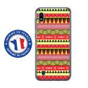 TPU0TPU0A10AZTEQUEJAUROU - Coque souple pour Samsung Galaxy A10 avec impression Motifs aztèque jaune et rouge