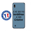 TPU0TPU0A10BORDELIQUEBLEU - Coque souple pour Samsung Galaxy A10 avec impression Motifs Je ne suis pas bordélique bleu