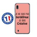 TPU0TPU0A10BORDELIQUEROSE - Coque souple pour Samsung Galaxy A10 avec impression Motifs Je ne suis pas bordélique rose