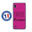 TPU0TPU0A10CHIEUSEFUSHIA - Coque souple pour Samsung Galaxy A10 avec impression Motifs Chieuse d'Amour fushia