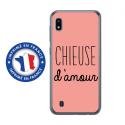 TPU0TPU0A10CHIEUSEROSE - Coque souple pour Samsung Galaxy A10 avec impression Motifs Chieuse d'Amour rose