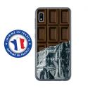 TPU0TPU0A10CHOCOLAT - Coque souple pour Samsung Galaxy A10 avec impression Motifs tablette de chocolat