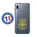 TPU0TPU0A10CHOUETTE - Coque souple pour Samsung Galaxy A10 avec impression Motifs chouette psychédélique