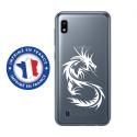 TPU0TPU0A10DRAGONTRIBAL - Coque souple pour Samsung Galaxy A10 avec impression Motifs dragon tribal