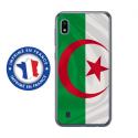 TPU0TPU0A10DRAPALGERIE - Coque souple pour Samsung Galaxy A10 avec impression Motifs drapeau de l'Algérie