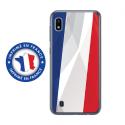 TPU0TPU0A10DRAPFRANCE - Coque souple pour Samsung Galaxy A10 avec impression Motifs drapeau de la France