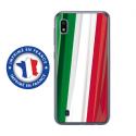 TPU0TPU0A10DRAPITALIE - Coque souple pour Samsung Galaxy A10 avec impression Motifs drapeau de l'Italie