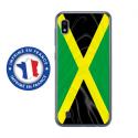 TPU0TPU0A10DRAPJAMAIQUE - Coque souple pour Samsung Galaxy A10 avec impression Motifs drapeau de la Jamaïque