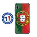 TPU0TPU0A10DRAPPORTUGAL - Coque souple pour Samsung Galaxy A10 avec impression Motifs drapeau du Portugal