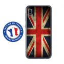 TPU0TPU0A10DRAPUKVINTAGE - Coque souple pour Samsung Galaxy A10 avec impression Motifs drapeau UK vintage