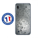 TPU0TPU0A10GOUTTEEAU - Coque souple pour Samsung Galaxy A10 avec impression Motifs gouttes d'eau
