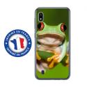 TPU0TPU0A10GRENOUILLE - Coque souple pour Samsung Galaxy A10 avec impression Motifs grenouille