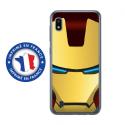 TPU0TPU0A10IRONMASQUE - Coque souple pour Samsung Galaxy A10 avec impression Motifs masque Iron