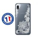 TPU0TPU0A10LACEBLANC - Coque souple pour Samsung Galaxy A10 avec impression Motifs Lace blanc