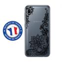 TPU0TPU0A10LACENOIR - Coque souple pour Samsung Galaxy A10 avec impression Motifs Lace noir