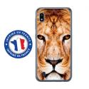 TPU0TPU0A10LION - Coque souple pour Samsung Galaxy A10 avec impression Motifs tête de lion