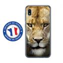 TPU0TPU0A10LIONNE - Coque souple pour Samsung Galaxy A10 avec impression Motifs tête de lionne