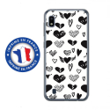 TPU0TPU0A10LOVE1 - Coque souple pour Samsung Galaxy A10 avec impression Motifs Love coeur 1