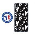 TPU0TPU0A10LOVE2 - Coque souple pour Samsung Galaxy A10 avec impression Motifs Love coeur 2
