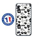 TPU0TPU0A10LOVE3 - Coque souple pour Samsung Galaxy A10 avec impression Motifs Love coeur 3