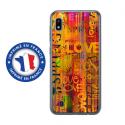 TPU0TPU0A10LOVESPRING - Coque souple pour Samsung Galaxy A10 avec impression Motifs Love Spring