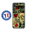 TPU0TPU0A10LOVEVINTAGE - Coque souple pour Samsung Galaxy A10 avec impression Motifs Love Vintage