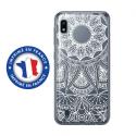 TPU0TPU0A10MANDALABLANC - Coque souple pour Samsung Galaxy A10 avec impression Motifs Mandala blanc