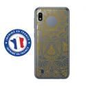 TPU0TPU0A10MANDALAGOLD - Coque souple pour Samsung Galaxy A10 avec impression Motifs Mandala gold
