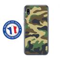 TPU0TPU0A10MILITAIREVERT - Coque souple pour Samsung Galaxy A10 avec impression Motifs Camouflage militaire vert