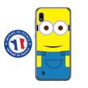 TPU0TPU0A10MINYEUXSOURIRE - Coque souple pour Samsung Galaxy A10 avec impression Motifs mignon personnage