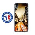 TPU0TPU0A10NIGHTSTREET - Coque souple pour Samsung Galaxy A10 avec impression Motifs Night Street