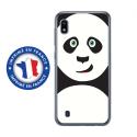 TPU0TPU0A10PANDA - Coque souple pour Samsung Galaxy A10 avec impression Motifs panda