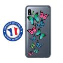 TPU0TPU0A10PAPILLONS - Coque souple pour Samsung Galaxy A10 avec impression Motifs papillons colorés