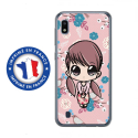 TPU0TPU0A10PETITEFILLE - Coque souple pour Samsung Galaxy A10 avec impression Motifs petite fille manga