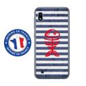 TPU0TPU0A10POISSON - Coque souple pour Samsung Galaxy A10 avec impression Motifs squelette poisson